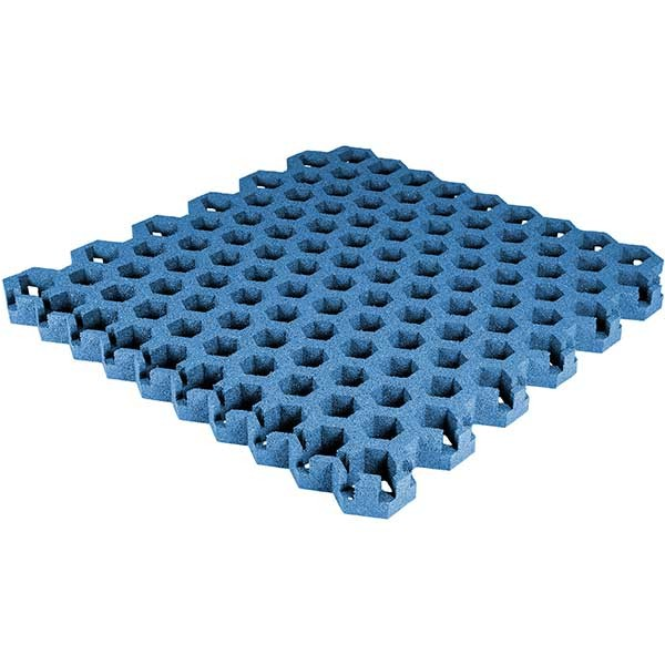 Paddock Gitterplatte blau