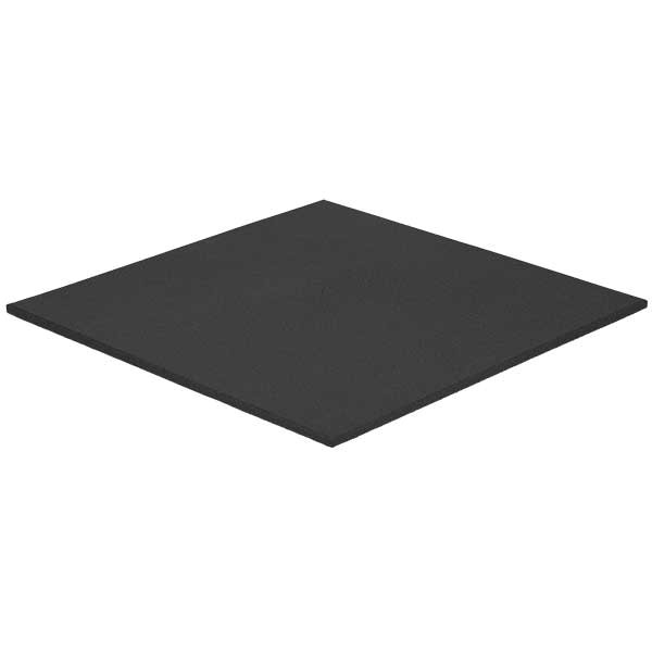 Boxwandmatte L schwarz