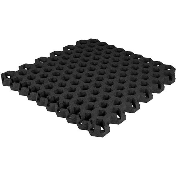 Paddock Gitterplatte schwarz