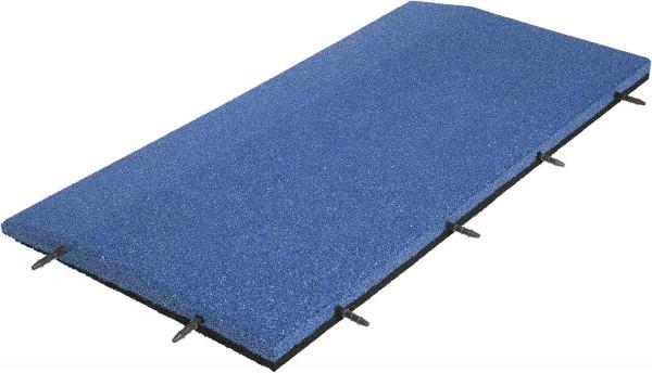 Randplatte blau 100cm x 50cm x 4cm